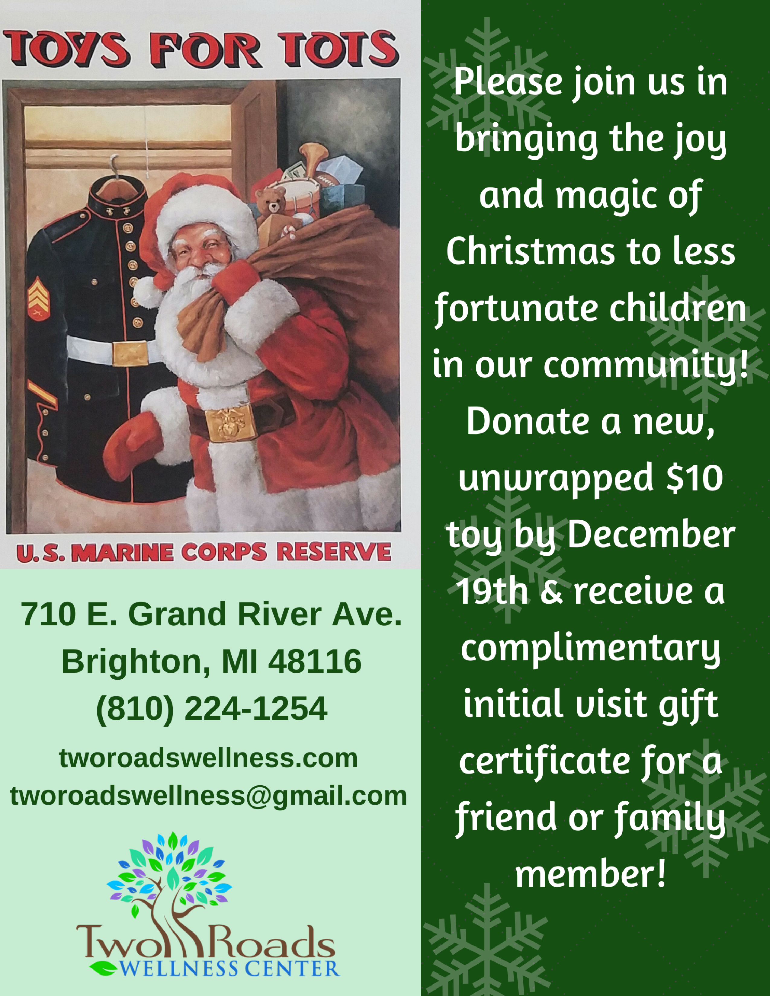 Toys for Tots promo